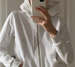 H&M basic bijela hoodica