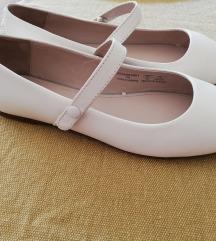 Zara bijele kožne balerinke