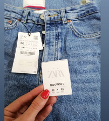 NOVO! ZARA 👢 CUT PUSH UP JEANS 36-165KN