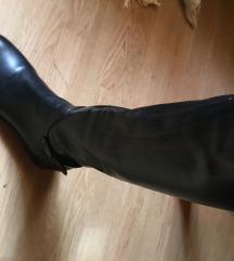 Visoke ravne čizme