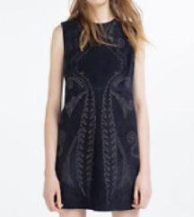 Zara haljina - brušena koža
