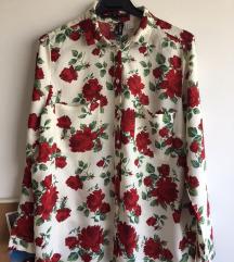 H&m floral mekana košulja vel 38