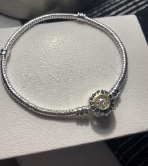 Pandora Signature narukvica - zmijski vez