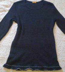 Merino pulover s volanom