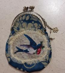 Novčanik , handmade sa printom.