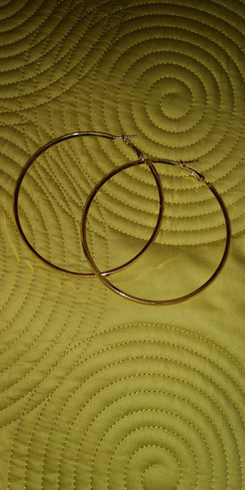Zlatni krugovi naušnice (GOLD HOOPS)