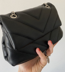 Bershka prosivena kozna torbica NOVO