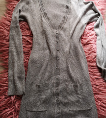 Srebrna siva Mango tunika majica