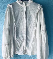 Etno bijela košulja