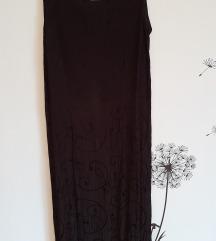 Maxi crna haljina