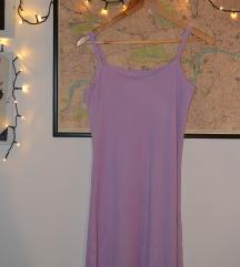Lila 90s slip haljina