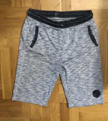 Dječje kratke hlače siva boja 158