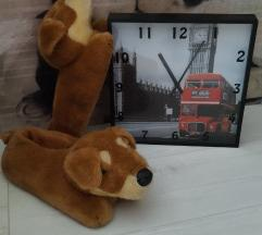 Veliki London sat + papuce pas 37