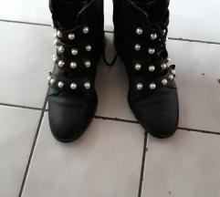 Čizme/gležnjače s biserima