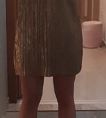 Zlatna haljina s etiketom