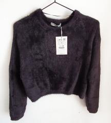 PULL&BEAR brushed pulover - s ETIKETOM