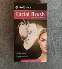 Wellneo četkica za čišćenje lica s 3 nastavka