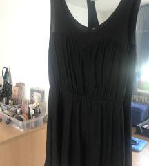 H&M kratka crna haljinica
