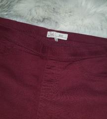 Bordo hlače C&A