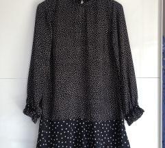 Zara točkasta haljina XS