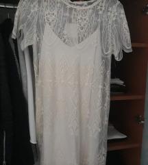 NOVA Zara bijela haljina snizeno 110 kn