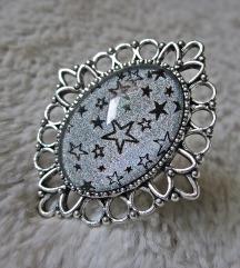 Prsten ''Holo stars'' (ručni rad)