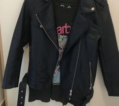 Zara biker kožna jakna
