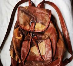 Kožna manja torba