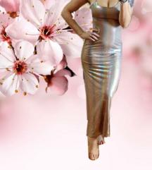 LUCY PARIS  maxi bež svečana haljina 🎀