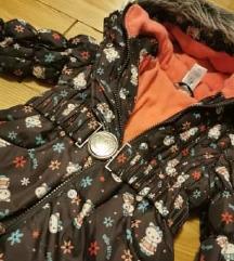 C@a zimska jakna za curicu 92