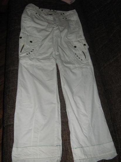 Bijele široke hlače