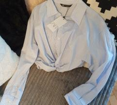 Zara cropped košulja