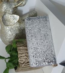 Novo silver glitter novcanik