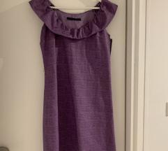 SET ljubičasta haljina 38