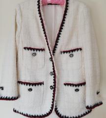 Zara tvid/bukle jakna
