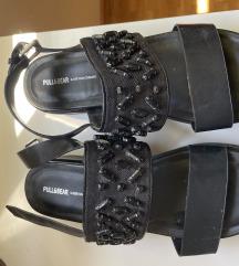 Crne sandale s platformom