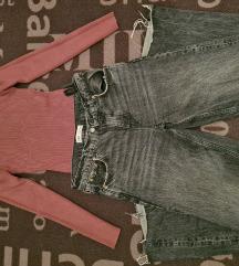 Zara hlače i majica LOT