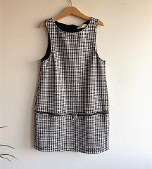 Zara pepita haljina