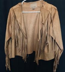 Vestern/ cowboy jaknica s resama