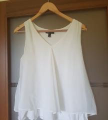 MANGO bijela bluza