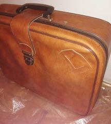 Velika kožna torba/kofer