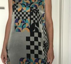 Ana Alkazar  luksuzna svilena haljina vel 36