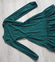 Tamno zelena haljina