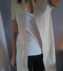 Bež duga košulja