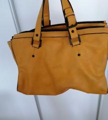 Zuta torba Zara