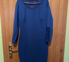 Kraljevsko plava svecana haljina