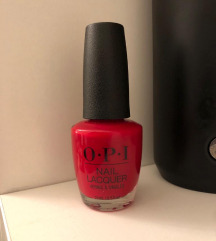 novi OPI Big Apple Red