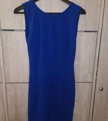 Tamnoplava haljina S