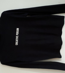 crna majica print