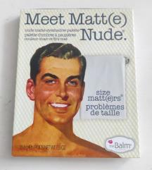 TheBalm Meet matt(e) nude paleta